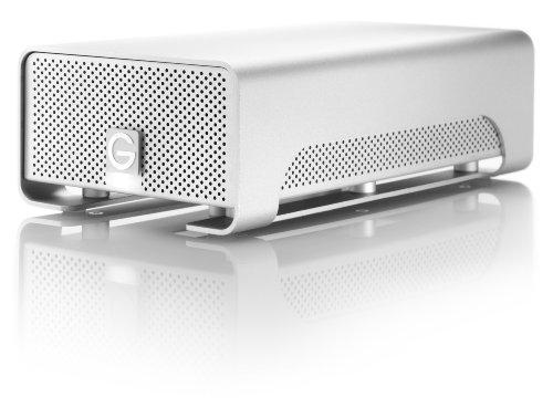 G-Technology G-RAID 4TB Dual External Hard Drive w/ eSATA, USB 2.0, Firewire 400, Firewire 800 Interfaces and RAID 0/1 0G00273