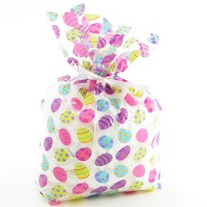 Buy Cellophane Easter Egg Party Bags