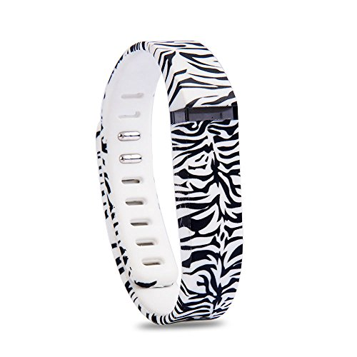 RedTaro Replacement Bands with Metal Clasps for Fitbit Flex / Wireless Activity Bracelet Sport Wristband / Fitbit Flex Bracelet Sport Arm Band (No tracker, 1PC Replacement Bands Only) (Fitbit Flex Unit compare prices)