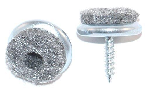 Meister feltrini per parquet con vite diametro 20 mm 16 for Feltrini sedie per parquet