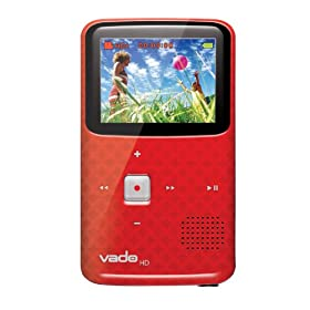 Vado HD 3rd Gen (Red) Refurbished