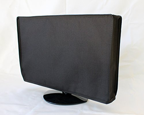 Naked Front Flap Lifts up Waterproof Tv Cover 41 x 26 x 4, Led, Lcd, Plasma, or Flat Screen Tv Cover (BLACK, 33-42