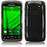 Blackberry Torch 9860 Gel Skin Case / Cover - Smoke Black PART OF THE QUBITS ACCESSORIES RANGEby TERRAPIN