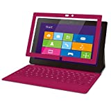 ELECOM Surface Pro/Surface Pro2対応 保護フィルム 気泡レス スムースタッチ ピンク TB-MSSFPWFLBSPN
