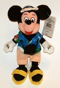Disney Tourist Mickey Mouse Beanbag - 1