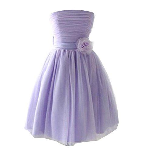 Buy-box Women's Sweetheart Bridesmaid Dresses Short Strapless
