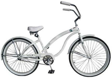 Michigan State Spartans Women's Cruiser Bike