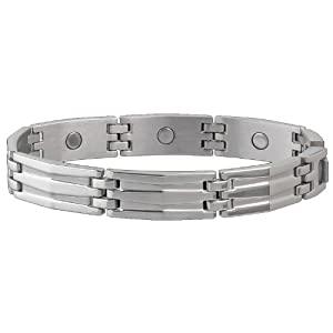 Buy Sabona Silhouette Stainless Magnetic Bracelet (Various Artists) by Sab