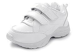 Liberty Unisex School Shoes White