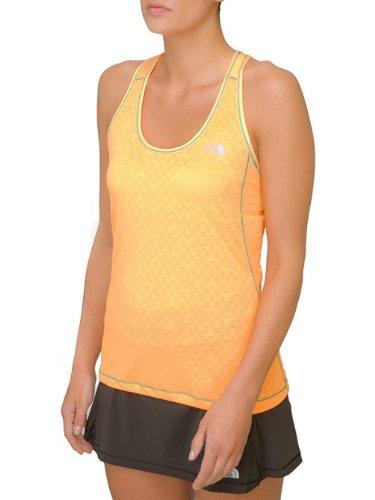 The North Face Women'S Eat My Dust Mesh Tank - Size: Large, Vitamin C Orange