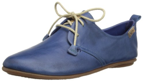 PIkolinos - Calabria 7123, Pattini Di Vestito Brogue da Donna, Blu (Blau (NAUTIC)), 41