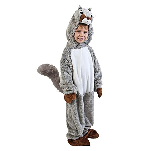 Toddler Squirrel Halloween Costume (Size: 2-4T)