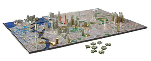 4D CITY SCAPE TIME PUZZLE 東京 77-046