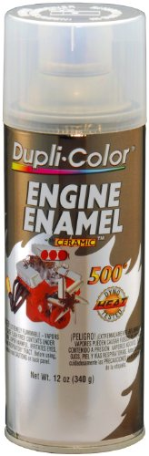 Dupli-Color DE1636 Ceramic Clear Engine Paint - 12 oz. (Duplicolor Enamel Clear Coat compare prices)