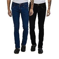 Cladien (Since 1958), 100% Cotton, Men Jeans Combo, Pack of 2