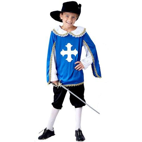 mousquetaire enfants age fancy dress costume 4 6 jouet. Black Bedroom Furniture Sets. Home Design Ideas