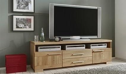 TV-Lowboard aus Wildeiche, B/H/T ca. 170/52,5/41 cm