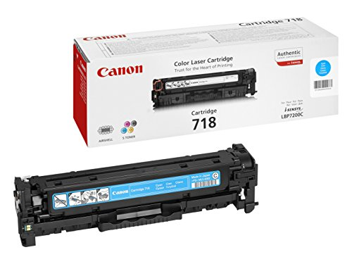 Canon Original Cyan Laser Toner Cartridge 718 226871 Black Friday & Cyber Monday 2014