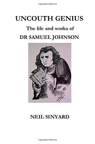Uncouth Genius: The Life And Works Of Dr Samuel Johnson front-180747