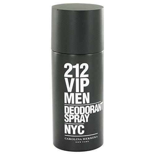212 VIP Men Cologne by Carolina Herrera Deodorant Spray 5 oz. [WP] Free! Sample Azzaro Cologne (Ch Men Polo compare prices)
