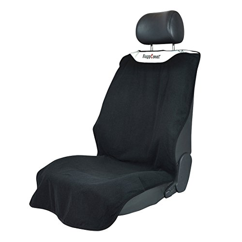 Happeseat® Machine Washable Car Seat Cover for Athletes Yoga Spin Running Beach Pilates Extreme Mudder (Black) (Happeseat Car Seat Cover compare prices)