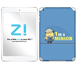 Zing Revolution Despicable Me 2 - One In A Minion Tablet Cover Skin for iPad mini (Wi-Fi/Wi-Fi + Cellular) (MS-DMT410389)