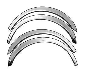 2003-2011 Lincoln Town Car Chrome Fender Trim Wheel Well Modlings