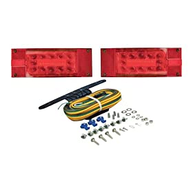 Blazer C7280 LED Low-Profile Submersible Trailer Light Kit for Trailer Over & Under 80 Inches -1 Pair