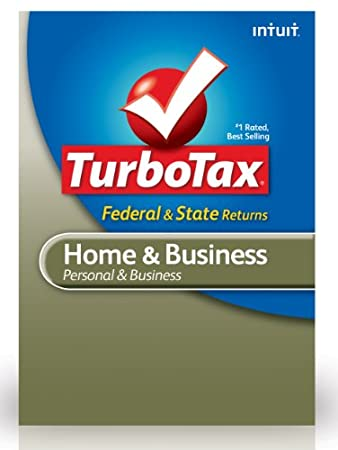 TurboTax Home &#038; Business Federal + E-File + State 2012 for PC [Download]