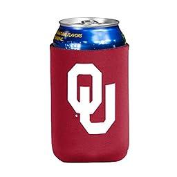 NCAA Oklahoma Sooners Flat Drink Coozie