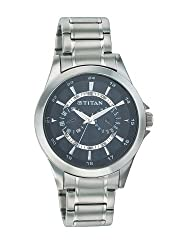 Titan Octane Analog Black Dial Mens Watch - NE9323SM02A