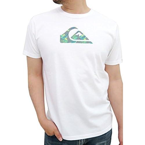 (クイックシルバー) QUIK SILVER Tシャツ メンズ 半袖 ロゴ 2color LL ホワイト