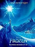 ポスター A4 パターンS アナと雪の女王 光沢プリント