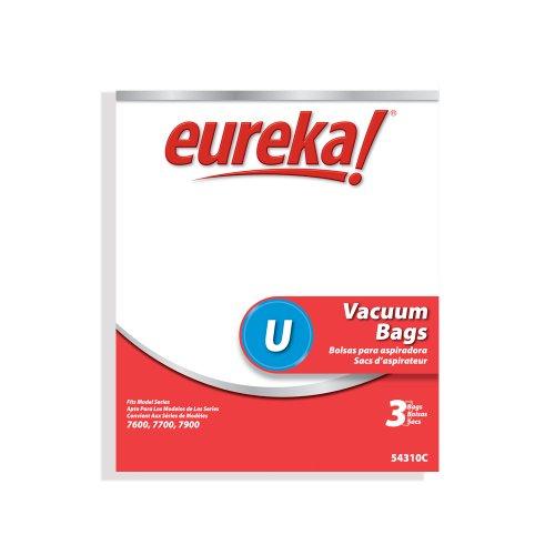 Genuine Eureka Style U Disposable Vacuum Bag 54310C - 3 pack (Eureka U Style compare prices)
