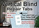 As Seen On TV Vertical Blind Repair Tabs, 10 Tabs