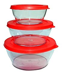 Microwave Unbreakable Bowl Set(color may vary)