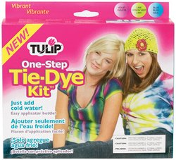 Tie-Dye Kit-Vibrant - Blue, Lime & Violet