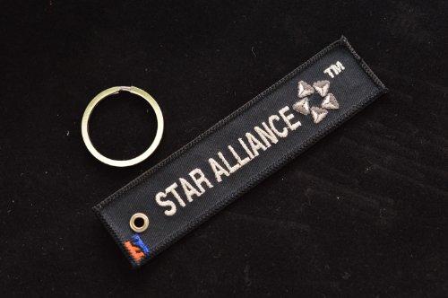 Tag panno Star Alliance beni aviazione nero (japan import)