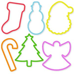 Silly Bandz Holiday Shapes