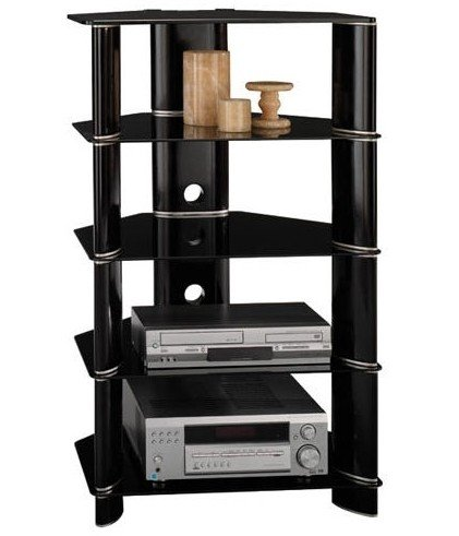 Cheap Segments Entertainment Audio Tower Rack Cabinet (AD11840-03)