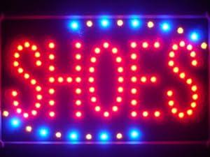 ADV PRO led089-r Shoes Led Neon Sign WhiteBoard