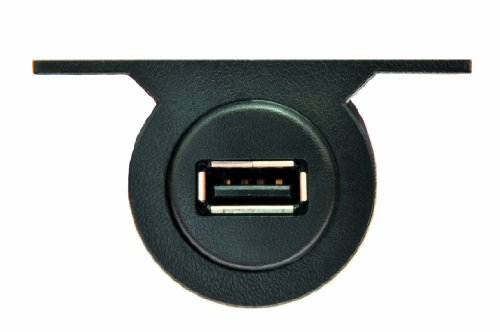Isimple Is43 1A Panel Mount With Usb Vehicle Charging Jack