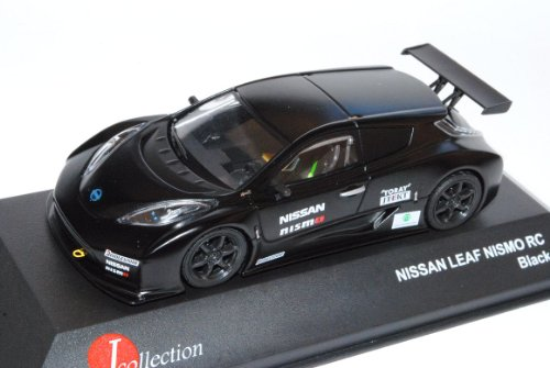 Nissan Leaf Nismo RC Schwarz 1/43 J-Collection Modell Auto