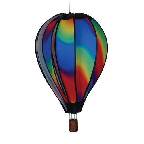 Premier Designs Premier Designs Hot Air Balloon Wavy Gradient Wind Spinner, Nylon