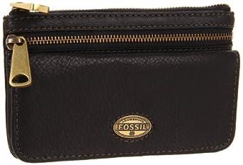 Fossil Explorer Flap Wallet, Black, One Size