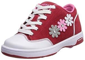 Heelys Flora Skate Shoe (Little Kid/Big Kid),Red/White/Pink/Grey,1 M US Little Kid