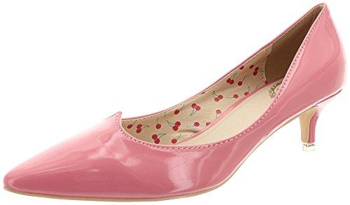 Banned, Scarpe col tacco donna, Rosa (rosa), 38 EU