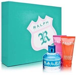 Ralph for Women Gift Set - 3.4 oz EDT Spray + 1.7 oz Body Lotion + 1.7 oz Shower Gel