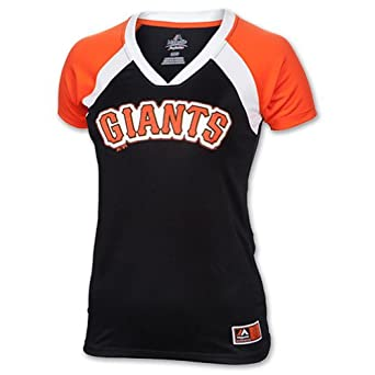 Majestic Ladies Plus Size San Francisco Giants Forge T by Majestic