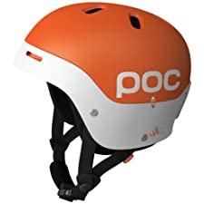POC Frontal Helmet (Orange/White, Small/53-54)